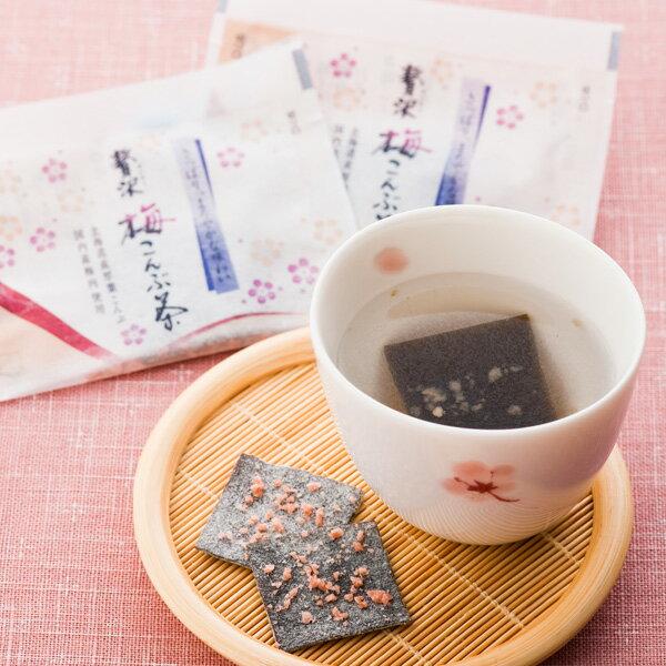 北海道産こんぶ使用 贅沢梅こんぶ茶 お徳用 袋入り 27袋