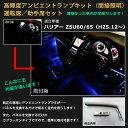 トヨタ 60ハリアー ZSU60 / ZSU65 (H25.12〜H29.6)用 高輝度アンビエントランプキット(間接照明)運転席/助手席セット高輝度 アンビ…