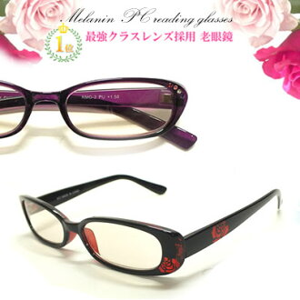 ★Rakuten first place acquisition ★( new color addition) PC glasses melanin PC convex glasses