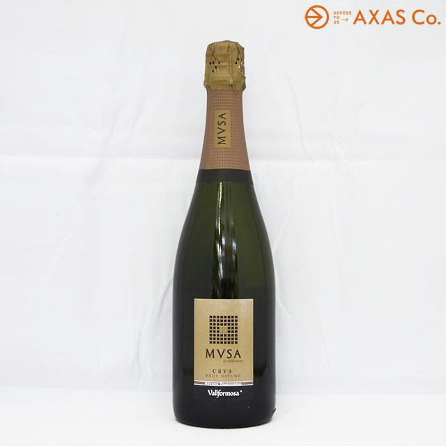 カヴァ・ムッサ・ブリュット・ナチューレ ヴァルフォルモッサ 白 750ml [スパークリングワイン 果実酒]