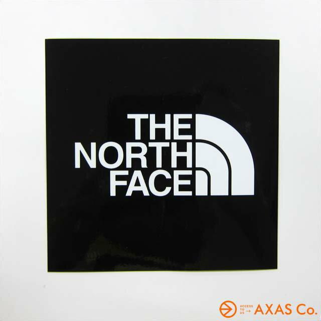 THE NORTH FACE(ノースフェイス) ノースフェイス ステッカー小 (NN-9719) Col.ブラック[ステッカー ブラック系 正規品]