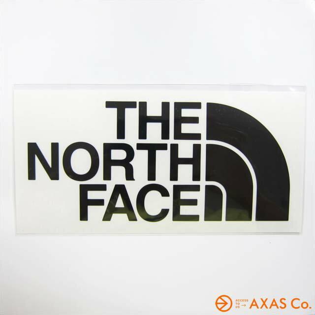 THE NORTH FACE(ノースフェイス) ノースフェイス カッティングステッカー (NN-88106) Col.ブラック