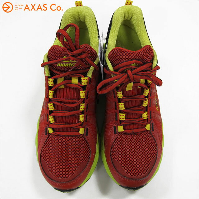 montrail(モントレイル) BAJADA (GM2167-698) Col.Sail Red,Chartreuse/Rouge nautique,Chartreuse