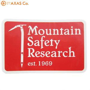MOUNTAIN SAFETY RESEARCH(マウンテンセーフティーリサーチ) MSR ヘリテイジステッカー 36905