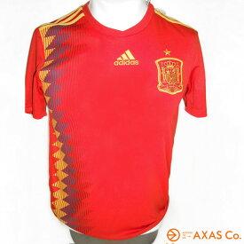 adidas(アディダス) サッカースペイン代表ホームレプリカユニフォームJr 半袖 (DTY36) Col.BK2713(レッド/ボールドゴールド)