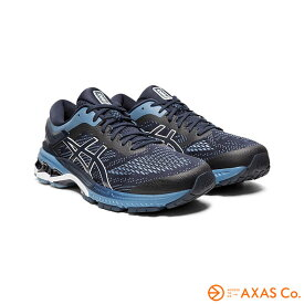 asics(アシックス) GEL-KAYANO 26 1011A541 Col.400 MIDNIGHT/GREY FLOSS