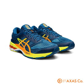 asics(アシックス) GEL-KAYANO 26 1011A712 Col.400 MAKO BLUE/SOUR YUZU