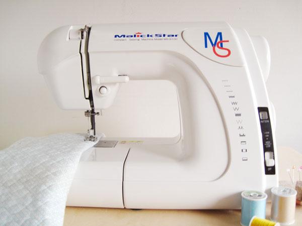 MS-9100 電動ミシン コンパクト 白色 ミシン 本体 コンパクト マリックスター 初心者