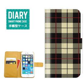 iPod touch 第6世代ケース 手帳型 送料無料 チェック Check デザイン A/W 海外 トレンド オシャレ シンプル カワイイ ファッション