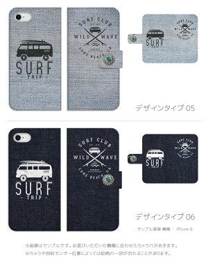 iPhone7ケース手帳型全機種対応送料無料SURFデザインデニムプリントDenim西海岸CALIFORNIALAサーファー海外トレンドサマーサンセットハワイアンALOHAアロハXPerformanceSO-04HZ5GalaxyS7edgeDIGNOARROWSAQUOSSH-04H507SH