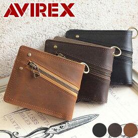 二つ折り財布 財布 AVX1703 アビレックス アヴィレックス AVIREX SLIFT スリフト