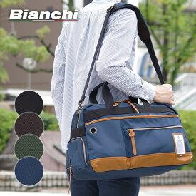 2WAYボストンバッグ NBTC14 ビアンキ Bianchi タブレット収納