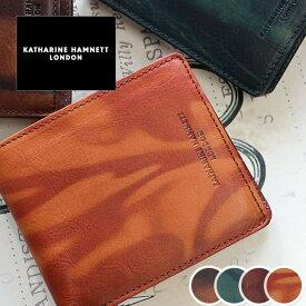 二つ折り財布 財布 490-59200 キャサリンハムネット KATHARINE HAMNETT LONDON FLUID フルード