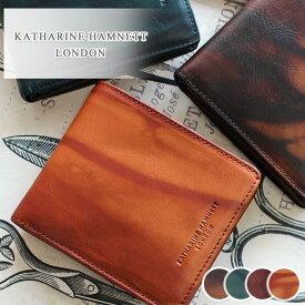 【在庫限り】二つ折り財布 財布 490-59201 キャサリンハムネット KATHARINE HAMNETT LONDON FLUID フルード