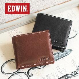 【メール便配送商品/ラッピング不可】二つ折り財布 財布 0510430 エドウィン EDWIN