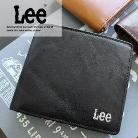 二つ折り財布 財布 0520370 リー Lee BOOK型【メール便配送商品/ラッピング不可】