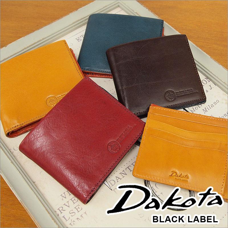 二つ折り財布 0625000 0623900 ダコタ ブラック レーベル Dakota BLACK LABEL 財布 ステファノ