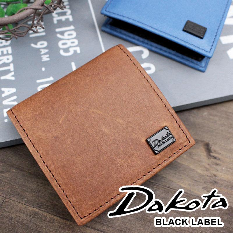 ボックス型小銭入れ コインケース 0625906 ダコタ ブラック レーベル Dakota BLACK LABEL BOX型 ワキシー
