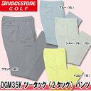 【16春夏】【63%OFF】ブリヂストン ゴルフ DGM35K ツータック(2タック)パンツ(メンズ)