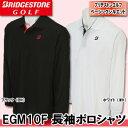 【16秋冬】【70%OFF】ブリヂストン ゴルフ EGM10F 長袖ポロシャツ(メンズ)