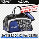 【18年】本間ゴルフ BB-1809 ボストンバッグ【Dancing HONMA/ダンシング ホンマ】