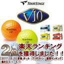 【69%OFF】ツアーステージ V10ゴルフボール【日本仕様】 1ダース(12球入り)