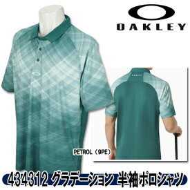 【19春夏】オークリー 434312 BARKIE GRADIENT GOLF POLO SS グラデーション 半袖ポロシャツ【10978】