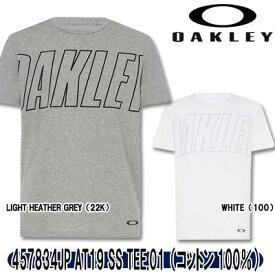 【19春夏】オークリー 457834JP AT19 SS TEE.01 Tシャツ(コットン100%)【10980】
