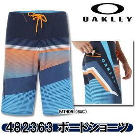 【19春夏】OAKLEY(オークリー)482363 GNARLY WAVE 21 ボードショーツ