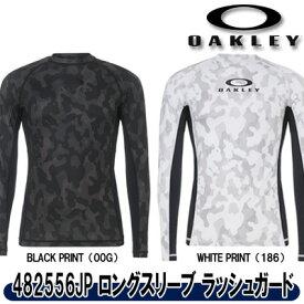 【19春夏】OAKLEY(オークリー)482556JP LS PRESSURE 9.0 ロングスリーブ ラッシュガード