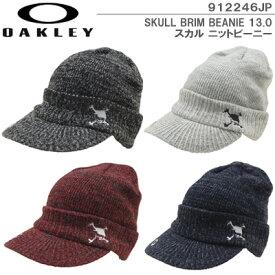 【19秋冬】OAKLEY(オークリー)912246JP SKULL BRIM BEANIE 13.0 スカル ニットビーニー
