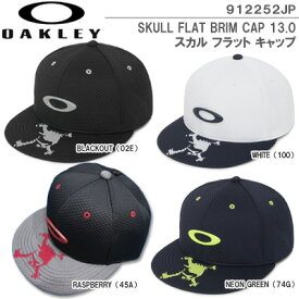 【19秋冬】オークリー 912252JP SKULL FLAT BRIM CAP 13.0 スカル フラット キャップ【11192】