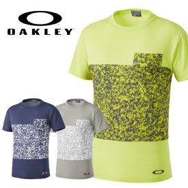 【15春夏】オークリー454750JP Circular Sublimation Tee Tシャツ【ネコポス配送可】【07828】
