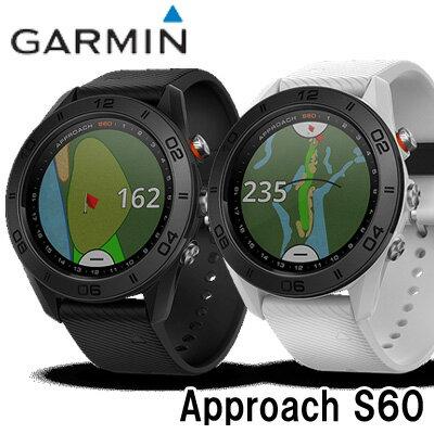 【17年最新】GARMIN(ガーミン)●Approach S60(エス60)【腕時計型】ゴルフナビ(GPS機能)
