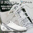 【16年最新モデル】FOOTJOY(フットジョイ) D.N.A(WIDE=2E)ゴルフシューズ 紐タイプ(#53419)