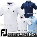 【16春夏】【50%OFF】FOOTJOY(フットジョイ)FJ-S16-S75 ピースバック 半袖ポロシャツ