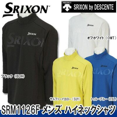 【16秋冬】【57%OFF】SRIXON(スリクソン)byデサントSRM1126F メンズ ハイネックシャツ【SRIXON by DESCENTE】