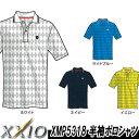 【15春夏】【60%OFF】XXIO(ゼクシオ)XMP5318 半袖ポロシャツ(メンズ)
