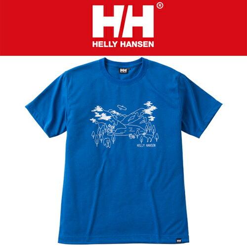 【16春夏】【40%OFF】HELLY HANSEN(ヘリーハンセン)HOE61604 S/S Fjord Tee ショートスリーブ フィヨルドティー(Tシャツ)【ネコポス配送可】