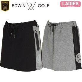 【19秋冬】EDWIN GOLF(エドウィン)EG19AW3030 レディース スカート JOGGER SKIRT【11873】