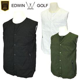 【SALE】【20秋冬】EDWIN GOLF(エドウィン)EG20AW5010 メンズ 中綿ベスト【11882】