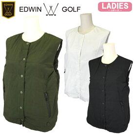 【SALE】【20秋冬】EDWIN GOLF(エドウィン)EG20AW6010 レディース 中綿ベスト【11883】