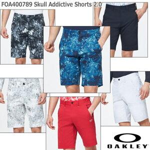 【20春夏】オークリー FOA400789 Skull Addictive Shorts 2.0 スカル ショートパンツ【11763】