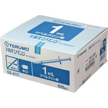 TERUMO テルモシリンジ 1mL SS-01T 1箱 (100本入)(ツベルクリン用)