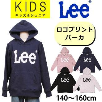 140-160cm kids Lee Lee logo print sweat shirt / pullover / parent and child / family / matching / coordinates / LK0471_118_161_104_101 lye Sanshin /AXS SANSHIN/ sun Shin