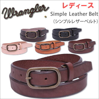 /WL6014 Wrangler / Wrangler / small simple Leather Belt (simple leather belt) belt