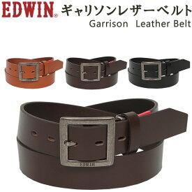 Garrison Leather Belt(ギャリソン レザー ベルト)EDWIN/エドウィン/エドウイン/ギャリソン/牛革/EDWIN-0110938-アクス三信/AXS SANSHIN/サンシン