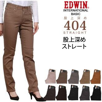 International basic rise deeper straight MissEDWIN/ Miss Edwin / Miss EDWIN /international basic ME424_151_174_114_125_139_145_168_176_175 lye Sanshin /AXS/ sun Shin