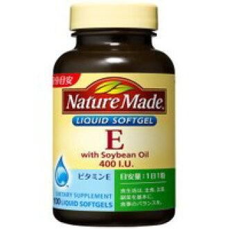 自然傭人維生素E400 100粒[海外發送對應]