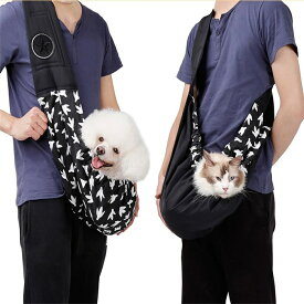 ペット 抱っこ紐 多機能 ペットスリング 小型犬 猫 スリング ショルダーバッグ 斜めがけ ペット用品 キャリーバッグ お出かけ アウトドア ペットキャリー